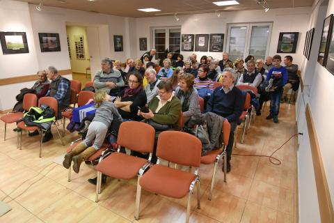 Otvoritev pregledne klubske razstave dne 3. decembra 2018 v Kulturnem domu v Radomljah